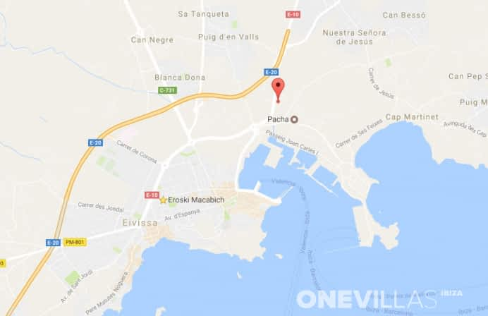 Eroski Ibiza-Stadt
